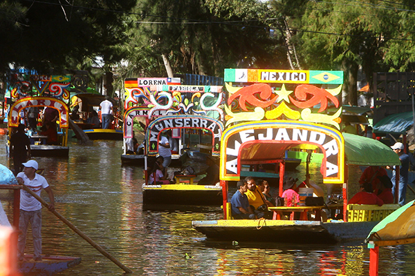 Trajineras-Xochimilco