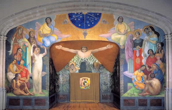 Murales De Diego Rivera Entre Los Anos 20 Y 50