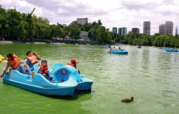 Todo lo que uno debería de saber sobre Mexico City - Página 2 Lago-chapultepec-limpio_