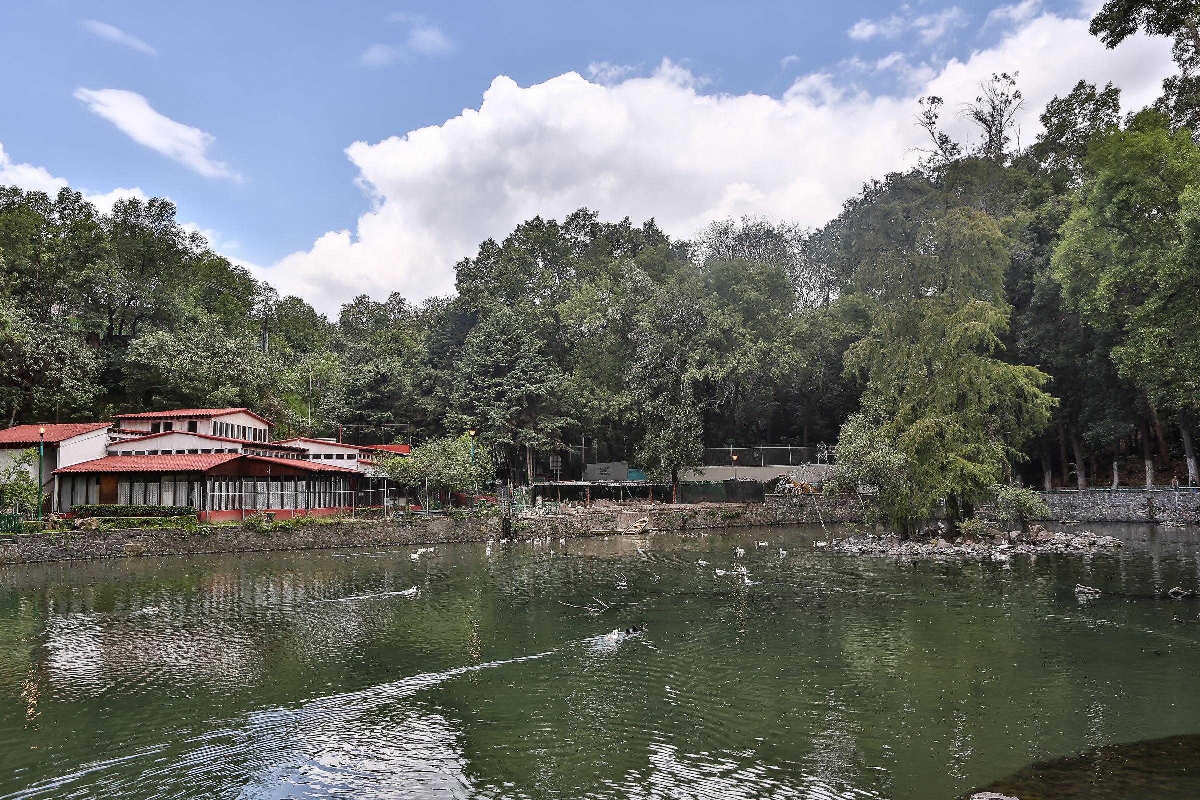 Parque de Fuentes Brotantes (lago)