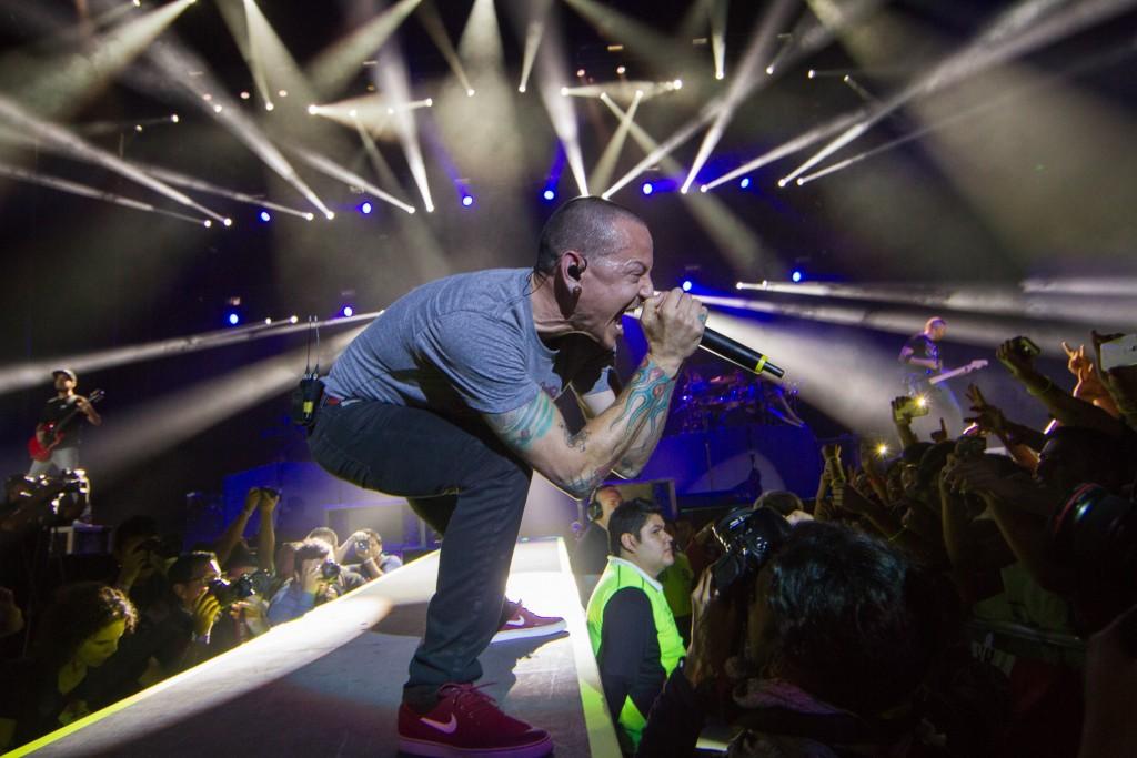 50623. México D.F.- La banda estadounidense Linkin Park se presentó con gran éxito en la Arena Ciudad de México. NOTIMEX/FOTO/NICOLAS TAVIRA/NTA/ACE
