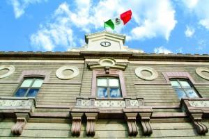MÉXICO, D.F., 20OCTUBRE2010.- Fachada del Archivo General de la Nacion, ante la penitenciaria de Lecumbrerri. FOTO: ENRIQUE ORDÓÑEZ/CUARTOSCURO.COM