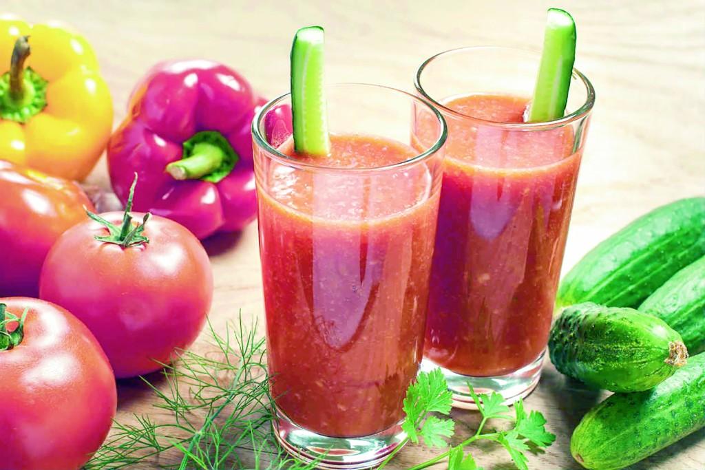 jugo verduras