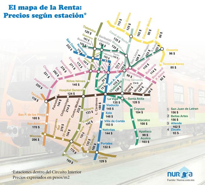 MapaMetroRenta