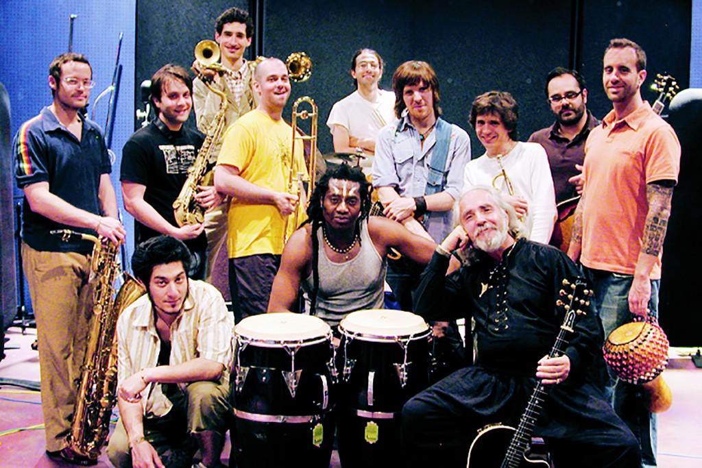 TaliasVan and New York Afro Beat group Antibalas - May 2005