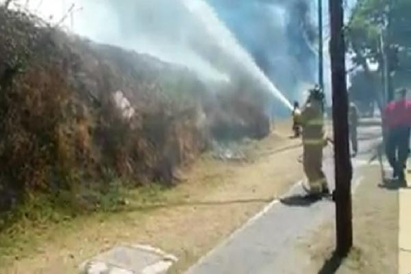 incendio Álvaro Obregón