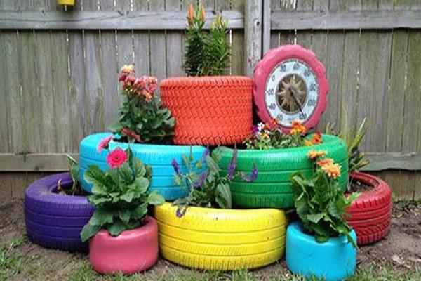 Cuatro Objetos Reciclados Para Decorar Tu Casa Maspormas - Objetos-reciclados-para-decorar