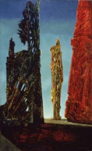 Max Ernst, Torpid Town, 1943