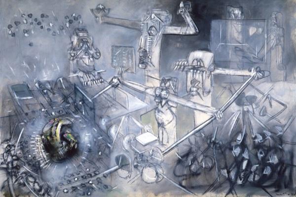 Roberto Matta, Justified Sinner, 1952