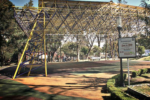 Parque Juan de Asbaje