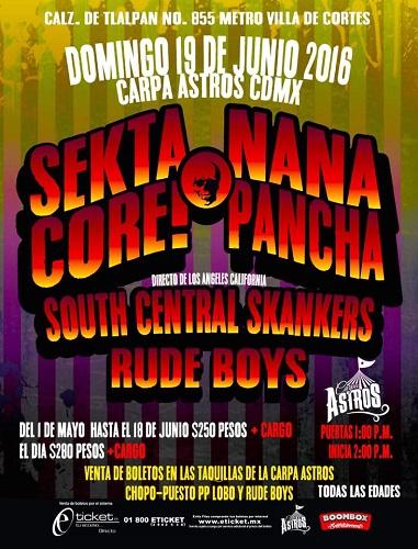 Sekta Nana Cartel Carpa Astros Jun 2016
