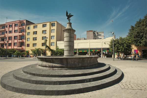 plaza de la aguilita