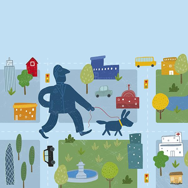 Parques para pasear a tus perros en la ciudad
