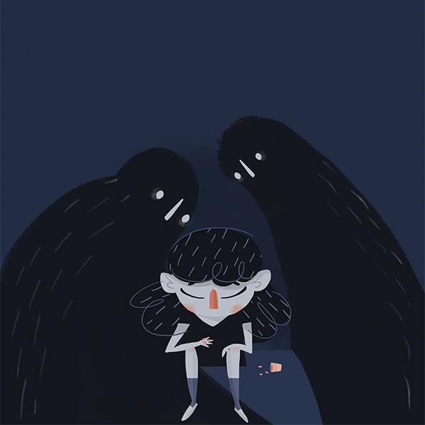 El suicidio es la tercera causa de muerte en jóvenes de entre 15 y 19 años. Arte, Michel Laris.