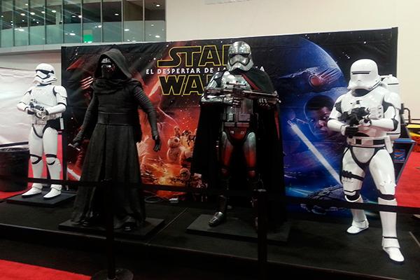 Evento de Star Wars en la Ciudad de México.