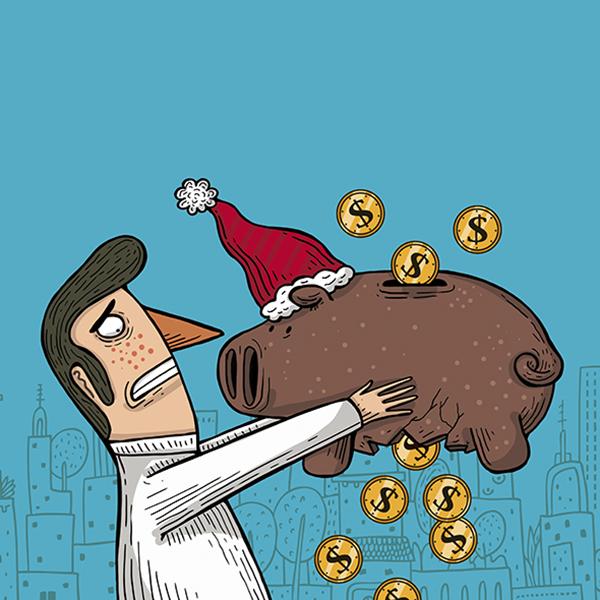 La economía familiar de los hogares capitalinos podría sufrir si no se planean gastos e inversiones. Arte, Alberto Montt