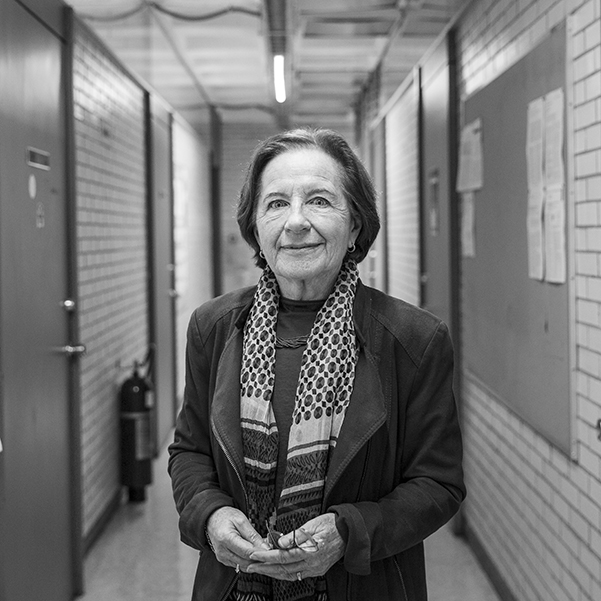 Ana María Cetto, doctora en física de la UNAM. Foto, Lulú Urdapilleta