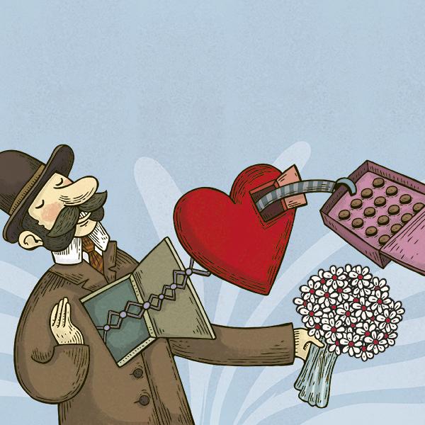 El amor a la antigüita, las tradiciones románticas que se niegan a morir en la CDMX. Arte, Alberto Montt