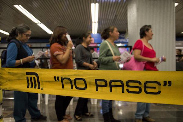 Acoso sexual en el Metro de la Ciudad de México