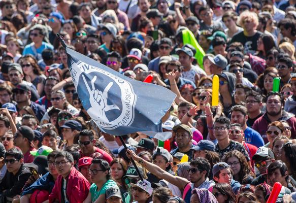 Dos décadas del Vive Latino