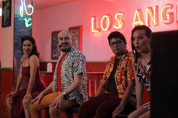 Dirigida por José Antonio Cordero, en esta obra la ficción y la realidad se mezclan como en un baile rápido.