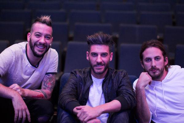 Parte del elenco está conformado por Faisy, Erick Elías y Sebastián Zurita