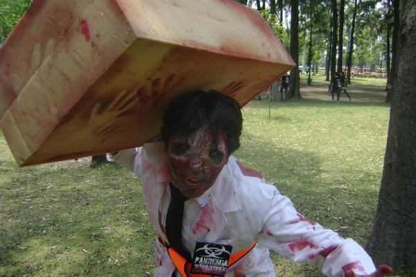 El próximo 30 de abril decenas de zombies invadirán el Bosque de San Juan de Aragón para un evento muy especial