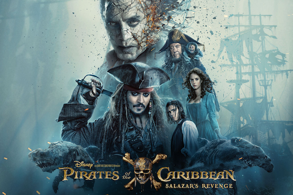 La sexta cinta de Piratas del Caribe se estrena este fin de semana en cines nacionales