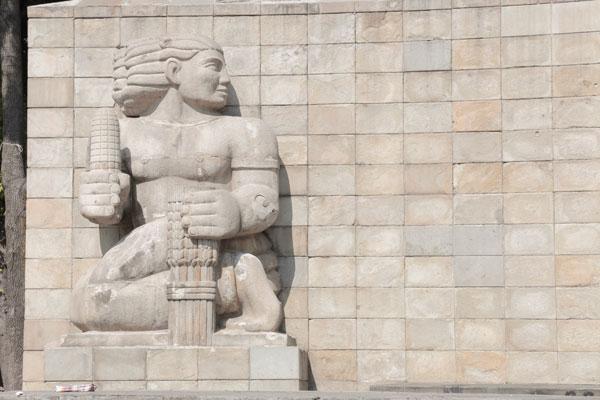 El Monumento a la Madre quedó bajo el diseño de José Villagrán García y de Luis Ortiz Monasterio