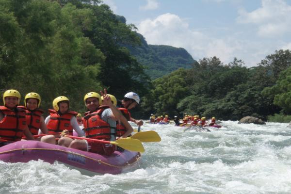 Rafting jalcomulco