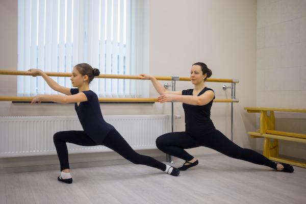En este centro se imparten clases de ballet para todas las edades.