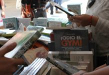Feria del Libro de la Alameda Central, agosto 2017.