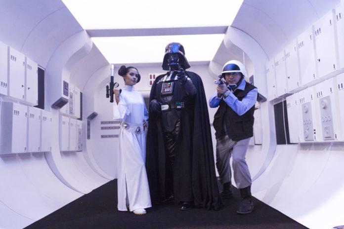 Ya empezó la expo de Star Wars en la Ciudad de México.
