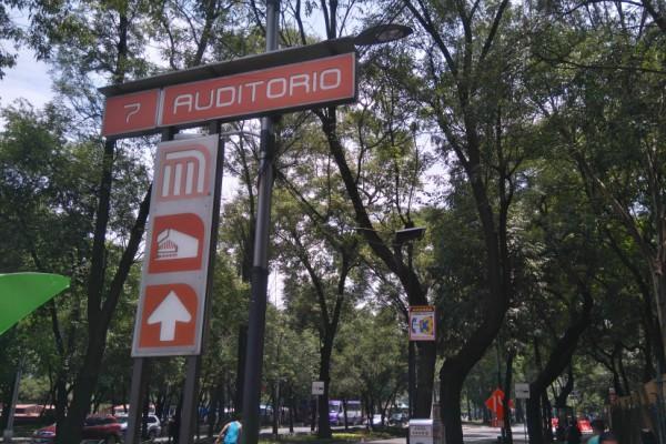 Sitios que encuentras afuera de Metro Auditorio.