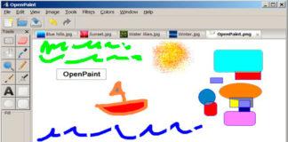 Softwares paint