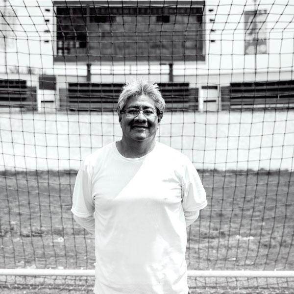 Ernesto es entrenador de futbol de amputados en la CDMX