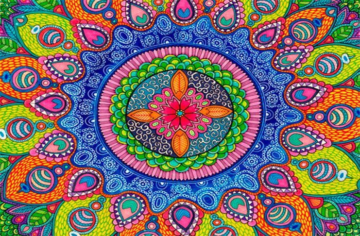 Dibuja Todas Las Mandalas Que Puedas En El Mandala Fest 2017