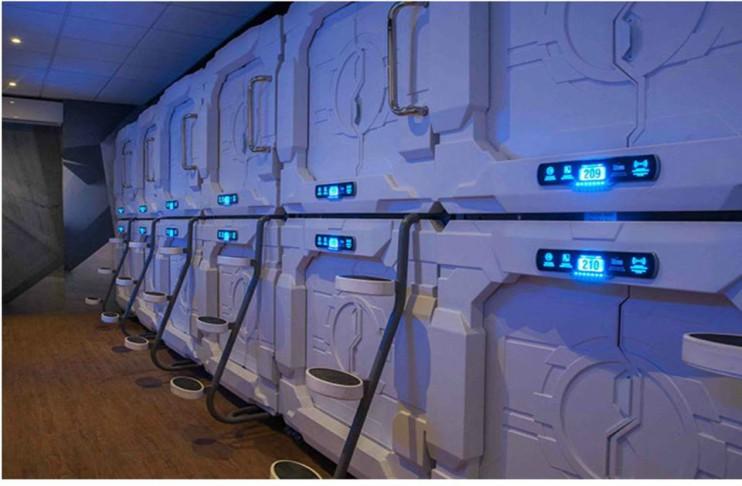 Ya hay cápsulas para dormir en el Aeropuerto de la CDMX