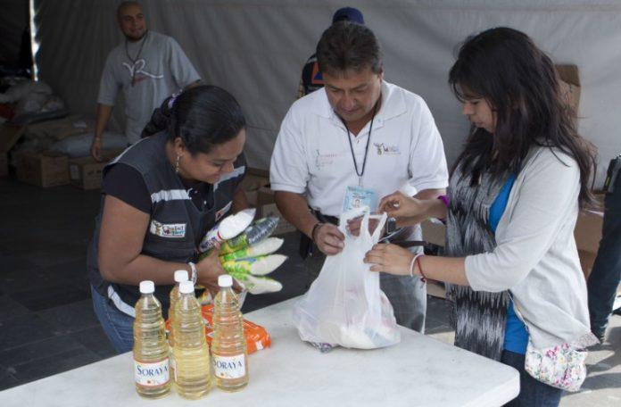 Se habilitarán centros de acopio en la Ciudad de México para ayudar a afectados por el sismo de 8.2 grados.