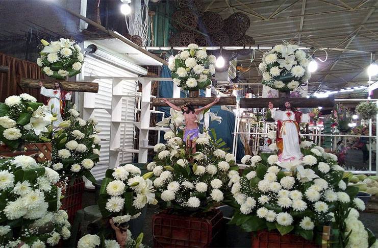 Lo Fúnebre Del Mercado De Jamaica De La Ciudad De México