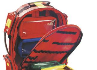 mochila de emergencia sismo