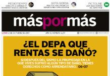 Máspormás, edición impresa, Issuu, lunes 2 de octubre de 2017