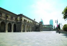 Castillo de Chapultepec Fachada