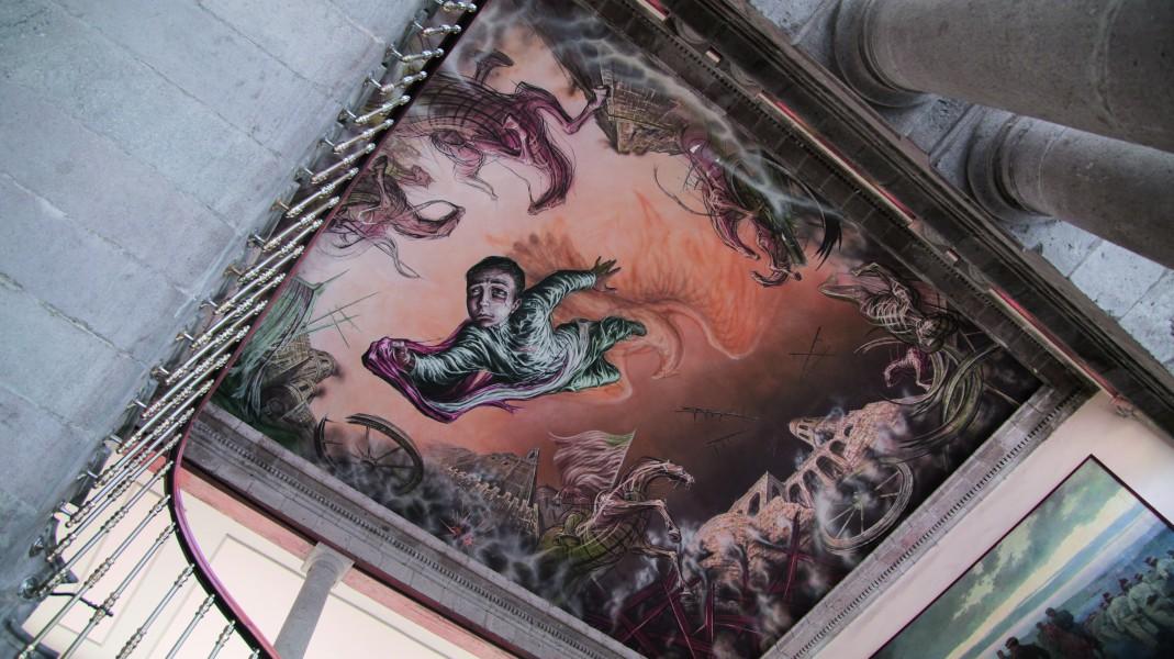 Castillo de Chapultepec Mural