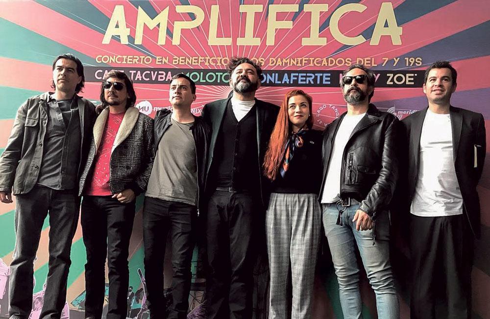 Café Tacvba encabeza concierto en apoyo a damnificados por sismos en México