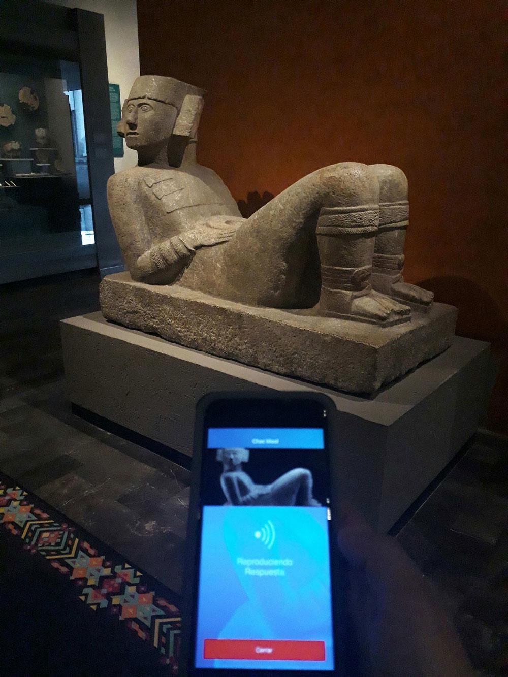 esculturas museo de antropologia