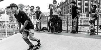skateboarding en Mexico