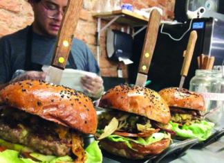 hamburguesas en la San Rafael