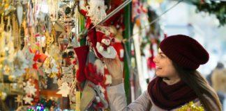 mercados de comida navideña
