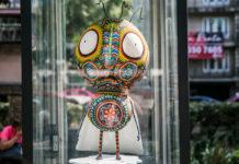 Tim Burton llega a Reforma